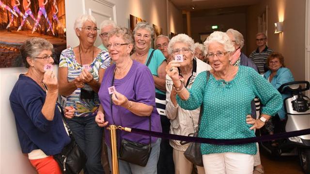 Veel belangstelling voor seniorenvoorstelling 3 October Vereeniging