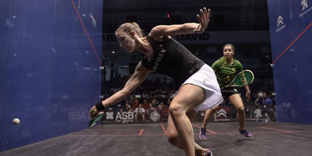 Eerste interactieve squashbaan van Nederland in Alphen