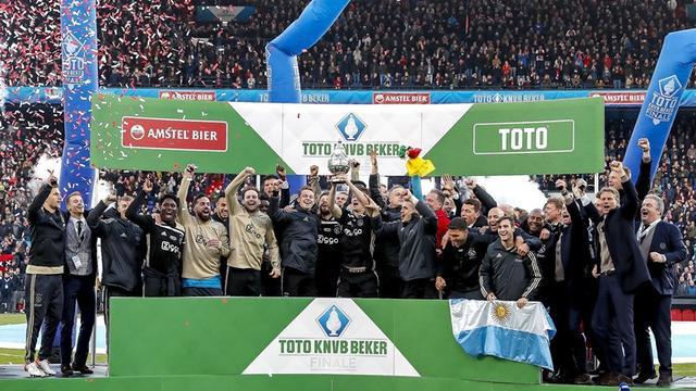 Erik ten Hag en Dusan Tadic wonnen de beker al met Ajax in 2019.