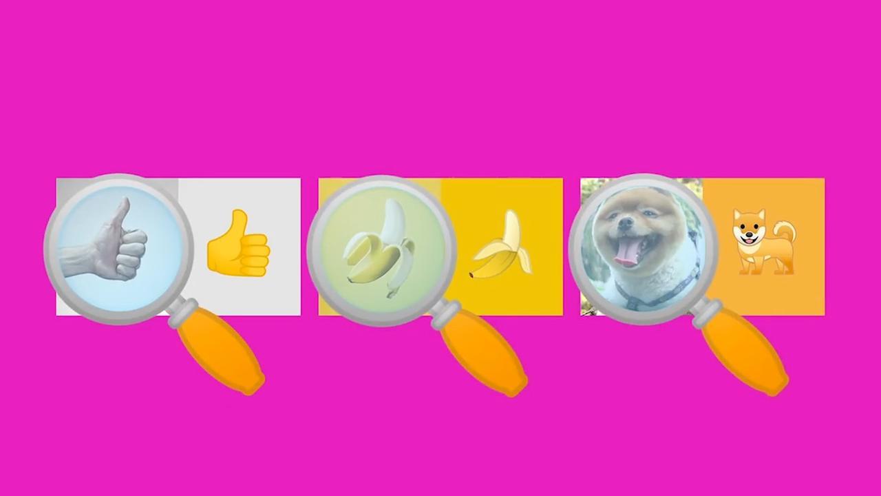 App laat gebruikers zoeken naar emoji's in het echt