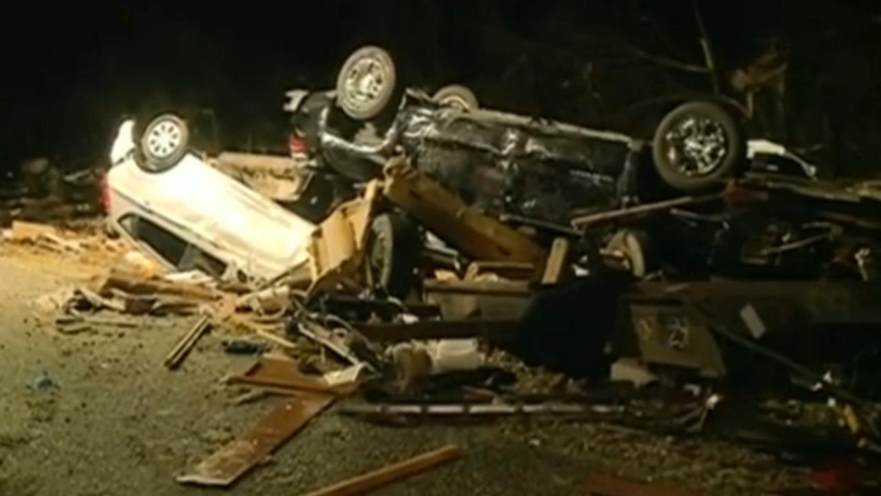 Zeker drie doden door tornado's zuidoosten VS