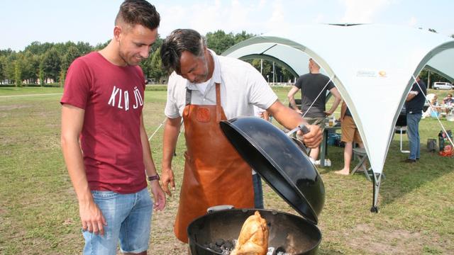 Barbecueën in Brabantpark voor het goede doel
