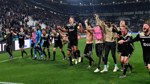 Ajax speelt op 30 april en 8 mei tegen Tottenham in halve finale CL