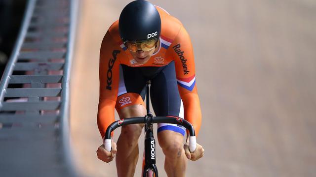 Theo Bos (33) zet voorlopig nog geen punt achter wielerloopbaan