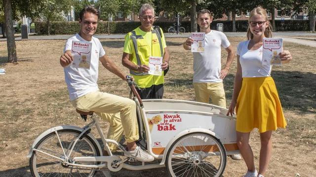 Gemeente Utrecht zet promotieteam in om stadsparken schoon te houden