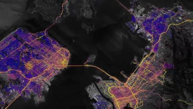 Google Earth toont luchtvervuiling in Californië