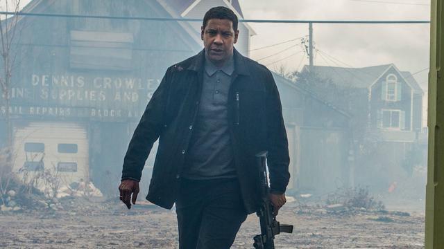 Regisseur grapt: 'Denzel Washington Instagramde tijdens scène Equalizer 2'