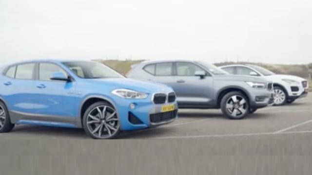 Eerste triotest: BMW X2, Jaguar E-Pace en Volvo XC40