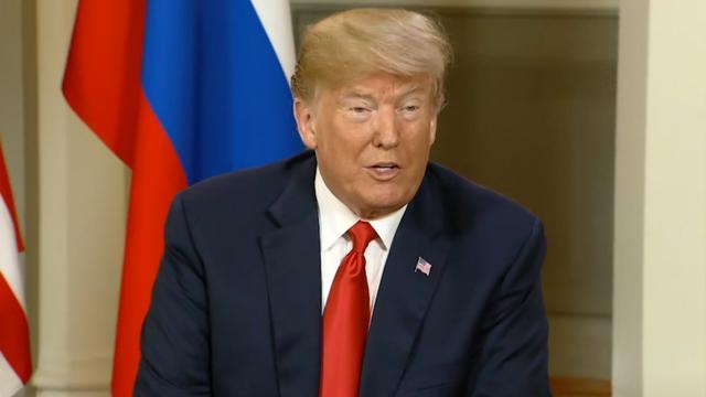 Trump voor aanvang top: 'Relatie met Rusland zal fantastisch zijn'