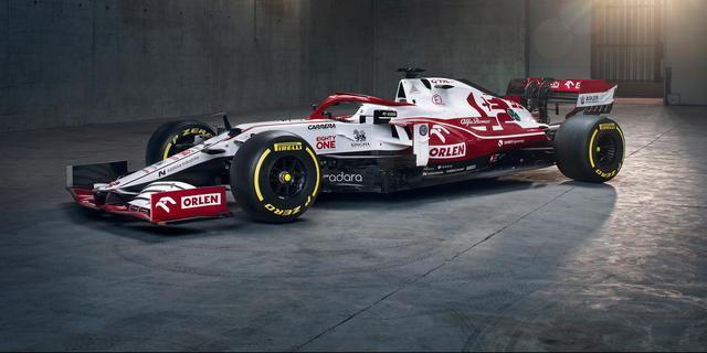 Alfa Romeo presenteert als derde Formule 1-team nieuwe auto