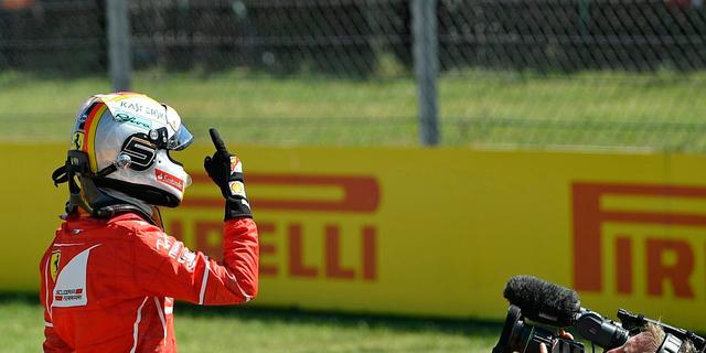 Vettel vindt pole position in Hongarije perfect antwoord op kritiek