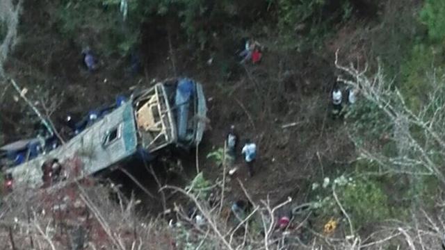 Zestien doden door busongeluk in Mexico