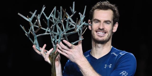 Murray geeft nummer één-positie extra glans met toernooizege in Parijs
