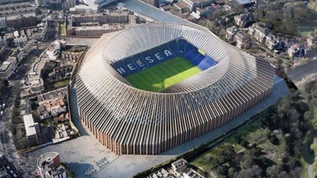 Chelsea schort plannen voor bouw nieuw stadion voorlopig op