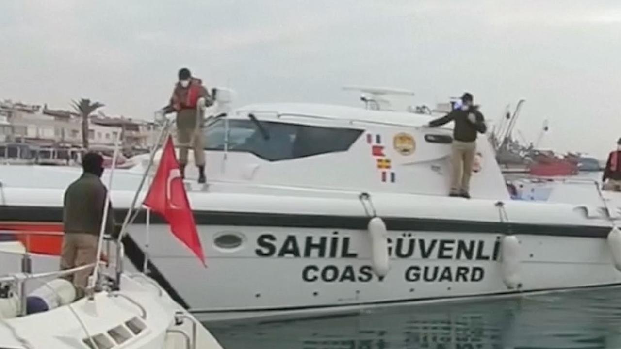 Migranten verdronken voor Turkse kust