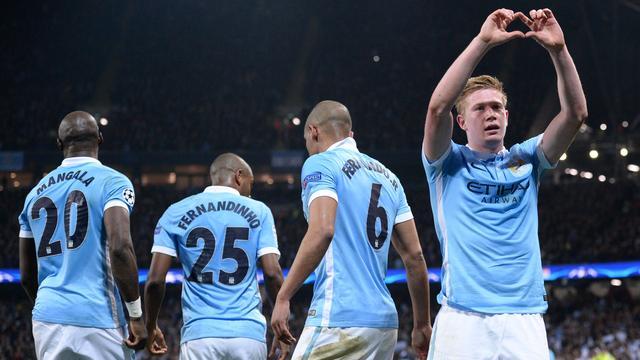 City voor het eerst naar halve finales Champions League na zege op PSG
