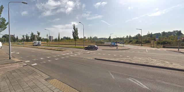 Fietser gewond na aanrijding met automobilist Prins Bernhardlaan