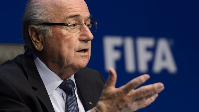 Blatter om 'persoonlijke redenen' niet bij finale WK vrouwen