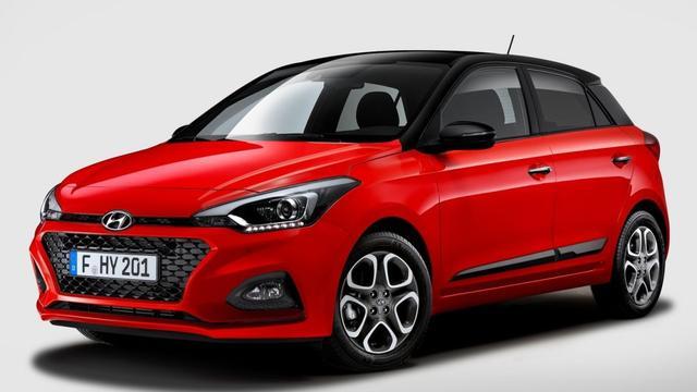 Facelift voor Europese versie Hyundai i20