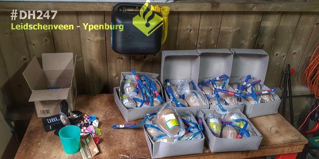 Politie vindt illegaal vuurwerk in auto Leidschenveen-Ypenburg