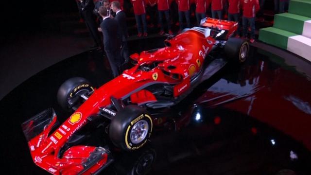Ferrari presenteert nieuwe Formule 1-auto