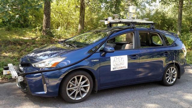 Nieuw zelfrijdend systeem kan rijden op onbekende wegen