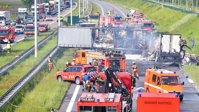 Stremming verkeer E19 tussen Breda en Antwerpen voorbij