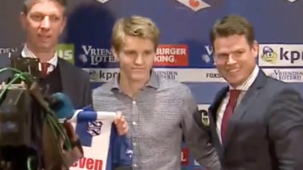 Nieuwe aanwinst Ödegaard gepresenteerd door Heerenveen