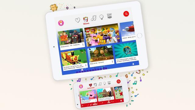 Google brengt kinderversie van YouTube uit in Nederland