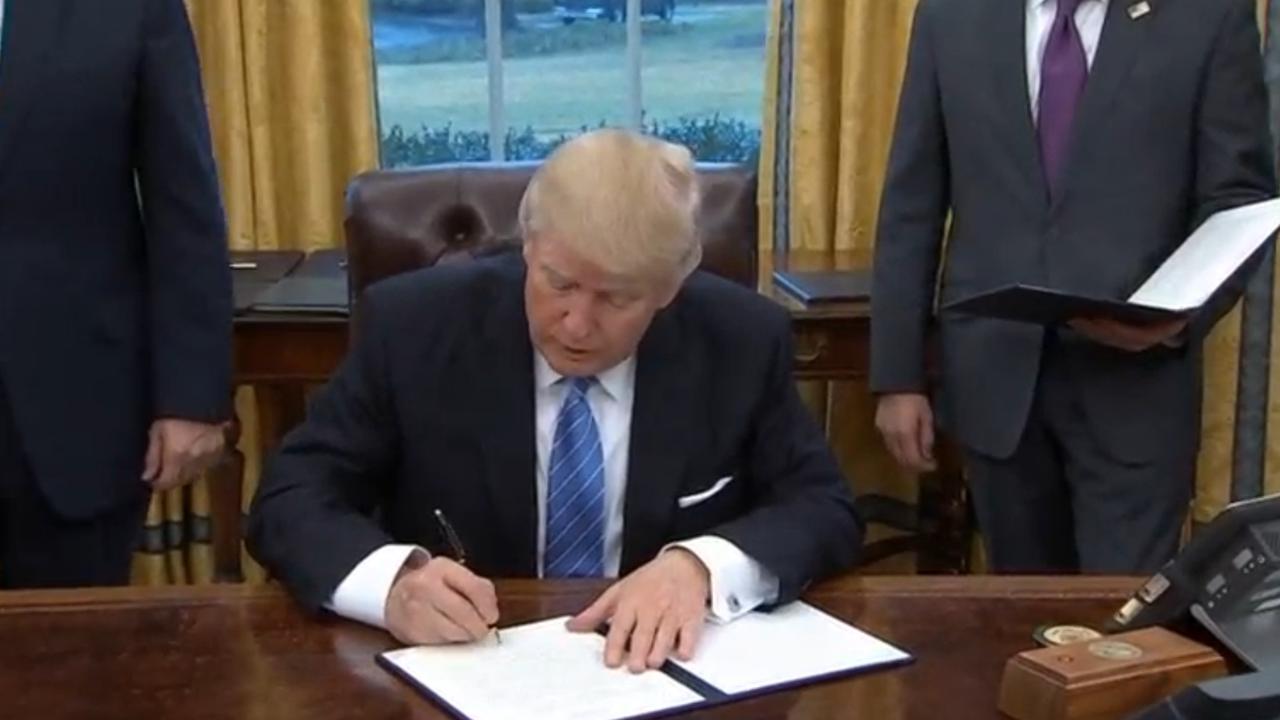 Trump trekt VS terug uit handelsakkoord TPP