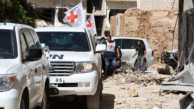 VN hervat hulpkonvooien in Syrië na eerdere aanval op vrachtwagens