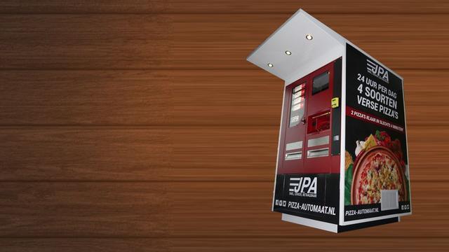 Derde pizza-automaat van de stad op Zernike Campus