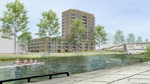 Groningen krijgt weer een nieuwe woontoren bij Korreweg