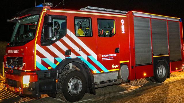 Grote brand in woning Naaldwijk, zeven mensen naar het ziekenhuis