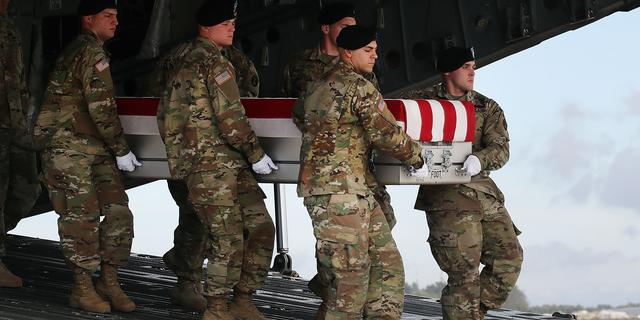 Amerikaanse soldaat omgekomen in Afghanistan