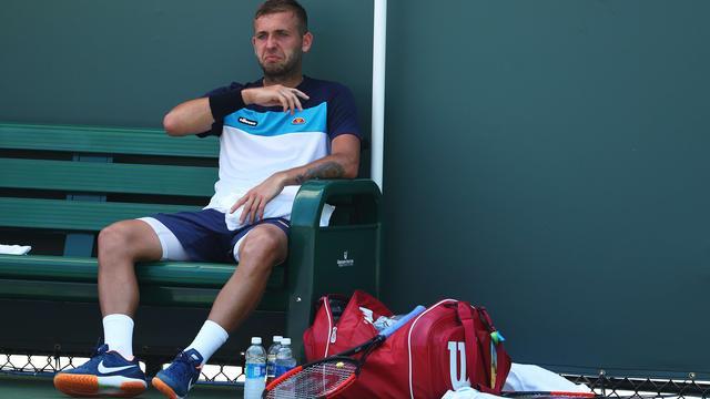 Tennisser Evans maakt deze week rentree na schorsing voor cocaïnegebruik