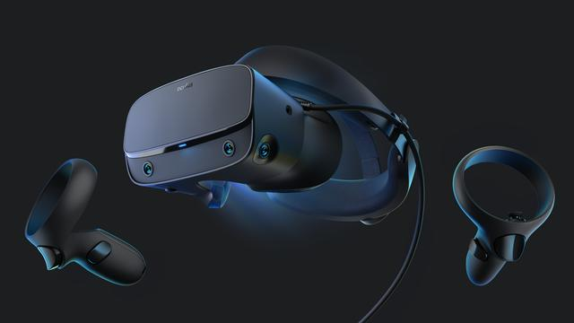 Facebook presenteert virtualrealityheadset Oculus Rift S van 499 euro