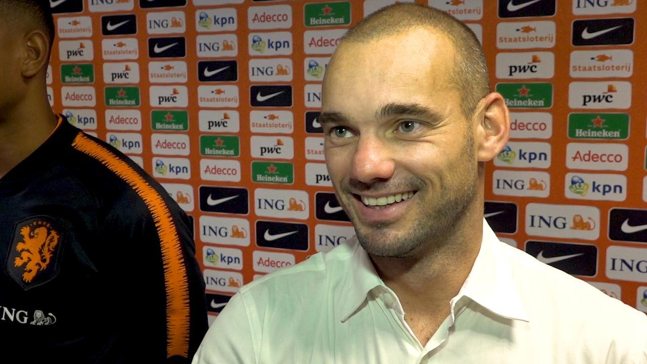 Sneijder: 'Als assistent terugkeren bij Oranje lijkt me leuk'