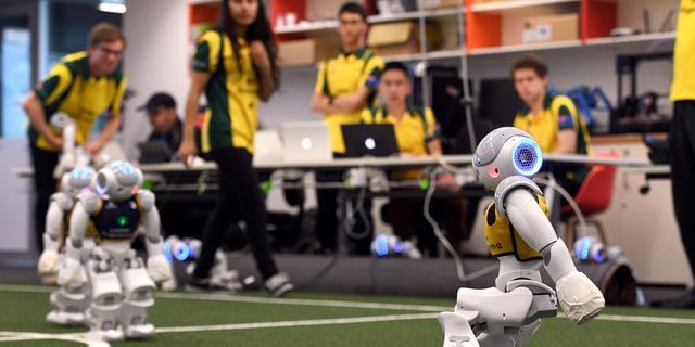 Team TU Eindhoven verliest finale WK robotvoetbal