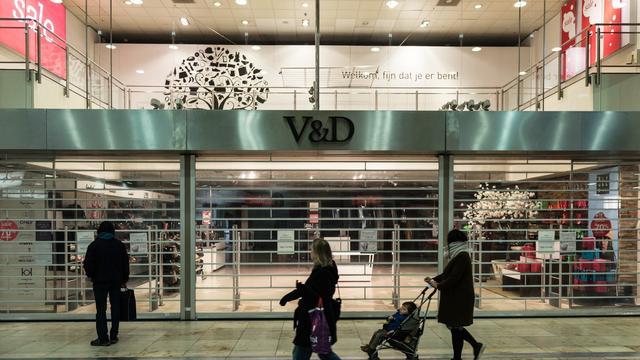 '570 ontslagen V&D-medewerkers moeten hulp van gemeente krijgen'