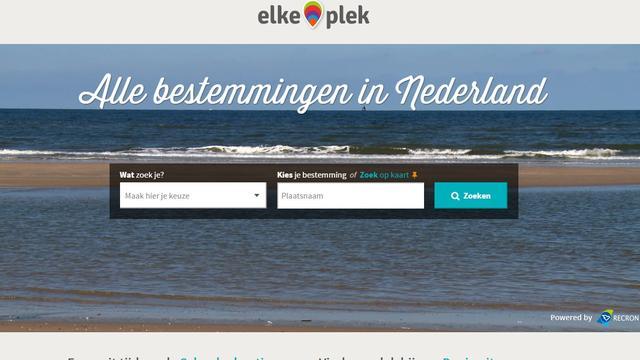 Drie ton voor boekingsplatform Elkeplek.nl
