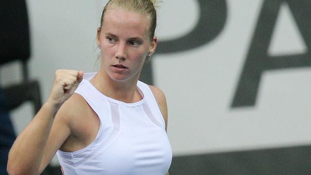 Hogenkamp verrassend naar tweede ronde WTA-toernooi Rabat