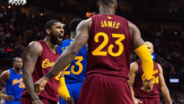 Cavaliers knokken zich langs Warriors in NBA-topper