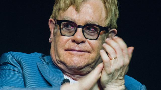 Elton John geeft lezing over hiv