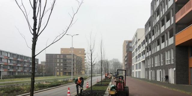 Werkzaamheden aan verlengde Thorbeckestraat deze week afgerond