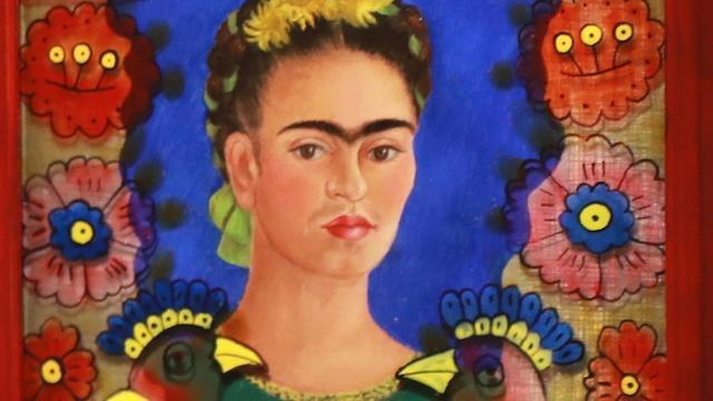 Nieuw schilderij van Frida Kahlo naar de veiling