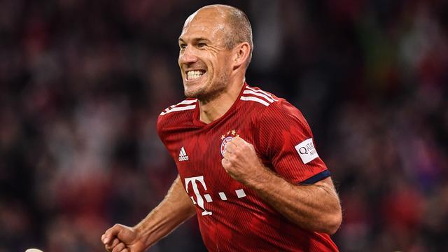 Hoofdrol Robben bij bizarre zege Bayern in openingsduel met Hoffenheim