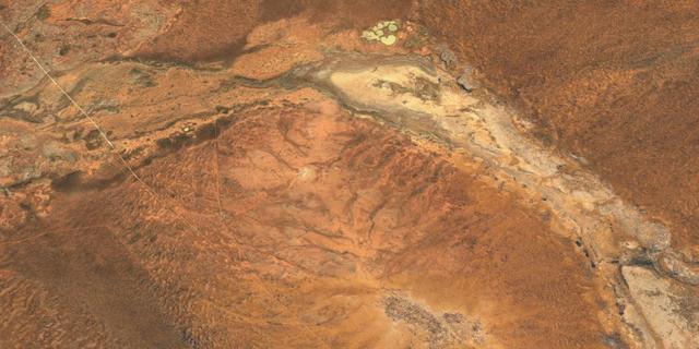 Oudste zichtbare inslagkrater op aarde komt van meteorietinslag in Australië