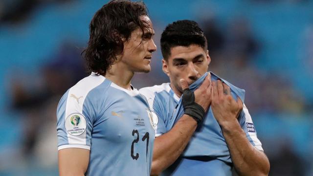 Uruguay ondanks treffer Suárez niet langs Japan op Copa América