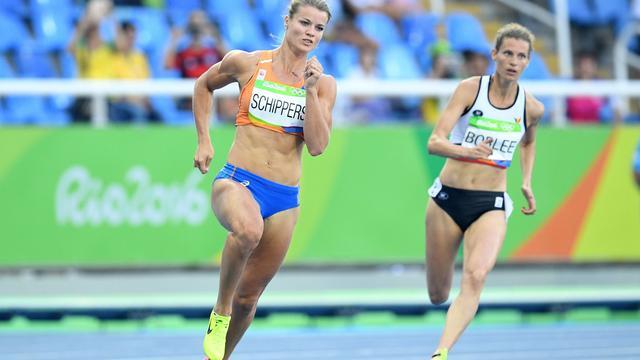 Schippers naar halve finale 200 meter, Samuel en Van Schagen klaar